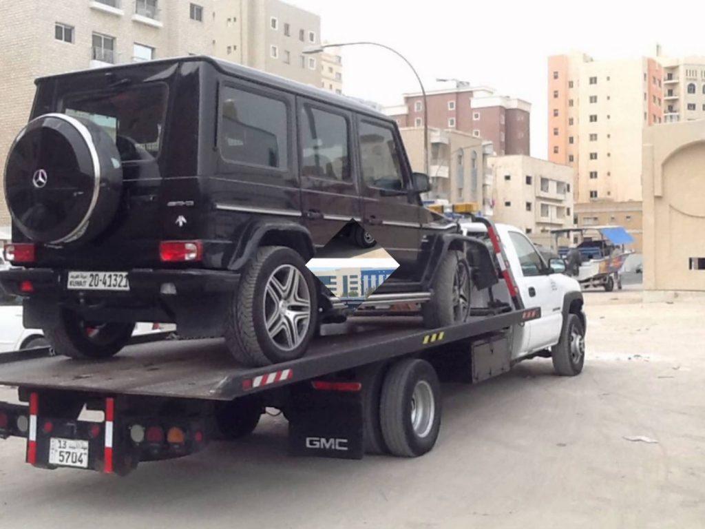 ونش سطحة العاصمة بالكويت